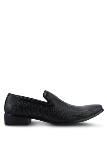 Bata black Slip On Dress Shoes 263A3SH52474B9GS_1