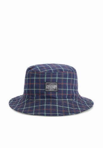 Life8 blue casual bucket hat-05288-Blue LI283AC0GMA1SG_1