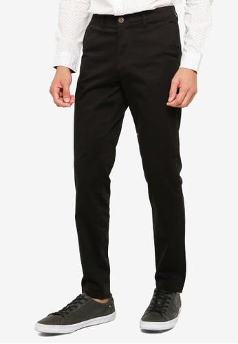 Jack & Jones black Casual Chino Pants A183EAA446DD66GS_1