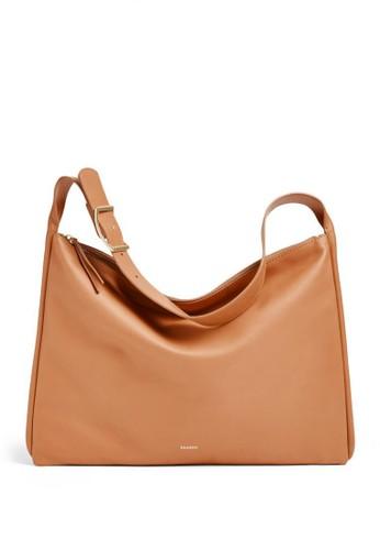 SKAGEN brown Skagen Anesa - Leather - Shoulder Bag - Tas Skagen Wanita - SWH0214231 945D5AC31234DDGS_1