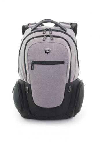 High Sierra black Houston Lp Backpack Charcoal/Black 14CF5AC5125AAEGS_1