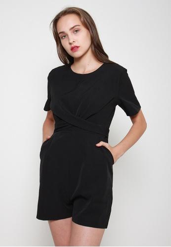 Leline Style black Elora Romper 69B4CAA1C5CD9CGS_1