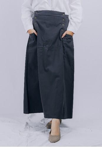 Sekido Official black Sekido Skirt RUHAMA Charcoal D1F08AAF59E7DCGS_1
