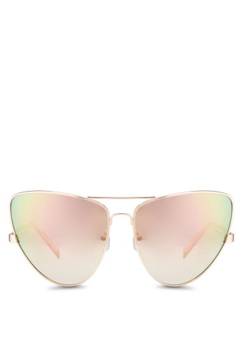 JPesprit taiwan0417 漸層粉色貓眼太陽眼鏡, 飾品配件, 飾品配件