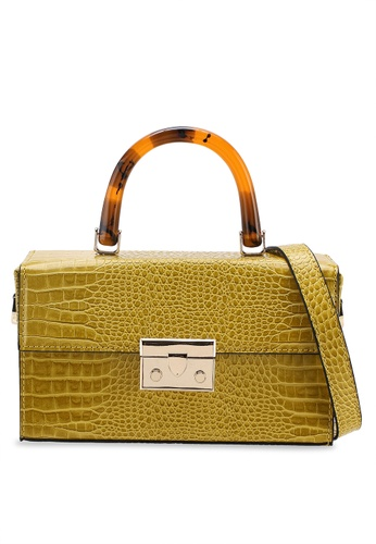 TOPSHOP yellow Cannes Boxy Grab Bag 84DDAACAC42313GS_1