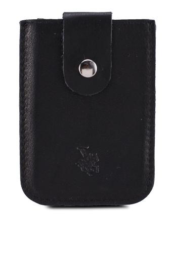 Swiss Polo black Card Holder 6463BAC9188122GS_1