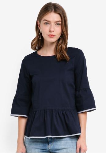 OVS navy Women's Shirt Without Sleeves F6DE5AA731F8E8GS_1