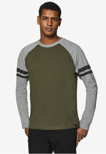 ESPRIT multi and grey Long Sleeve T-Shirt 1DBC7AAA8C4FA1GS_1