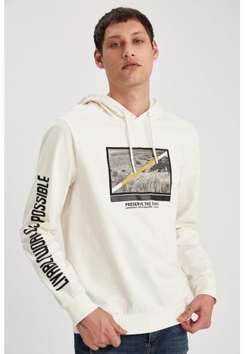 DeFacto beige Man Knitted Sweat Shirt C48C2AA0849C47GS_1