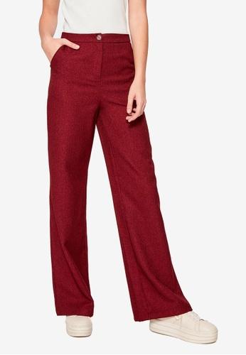 Trendyol red High Waist Pocket Trousers 86BEDAA99E681DGS_1