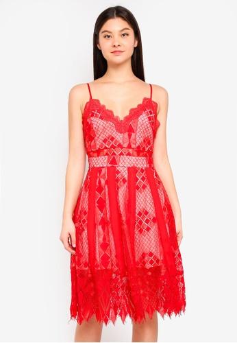 Foxiedox red Calla Dress A1FDBAAFA9A543GS_1
