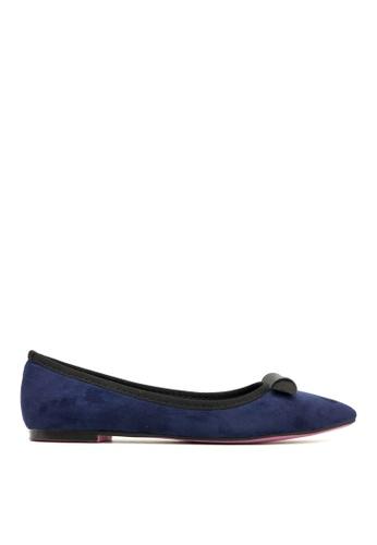 Carlo Rino blue Carlo Rino 333020-259-13 Pointed Toe Flats l (Blue) CA220SH0S1SOMY_1