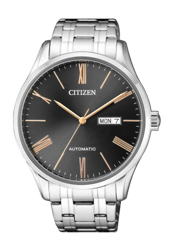 CITIZEN silver Citizen Gold, Black and Silver Stainless Steel Watch 1403DAC220CF66GS_1