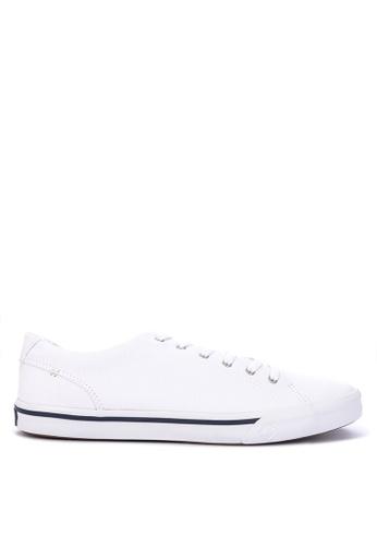 Sperry white Striper II LTT Saturated Sneakers F97FDSH1D90116GS_1