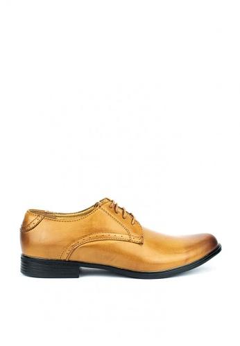 Mario D' boro Runway brown Ben Formal Shoes 8A36FSHF747853GS_1