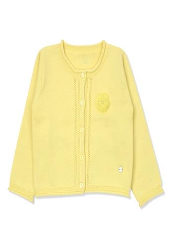 Organic mom yellow Organic Cotton Lily Thin Coat D8E5DKA782AE86GS_1