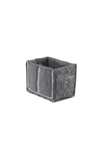 Kings Collection grey Multi function Insert bag (Grey) 325AFAC00C6F70GS_1