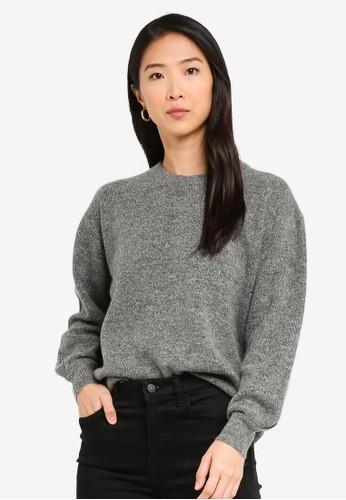 Vero Moda grey Philine O-neck Sweatshirt 0772AAA4893222GS_1