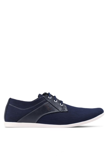 Louis Cuppers navy Grey Lace Shoes 55185SH74206A5GS_1