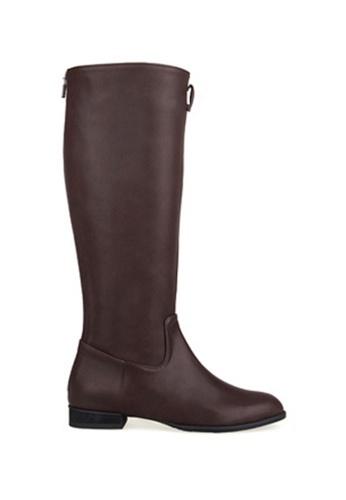 SPUR brown Belted Riding Boots SP642SH80JMPHK_1