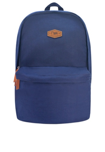 Ripples blue Sienna Basic Canvas Backpack 8332EAC2B4A013GS_1