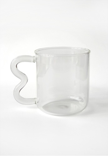 Your Lagom white Wavy Handle Glass Cup 21501HLBB2D5F5GS_1