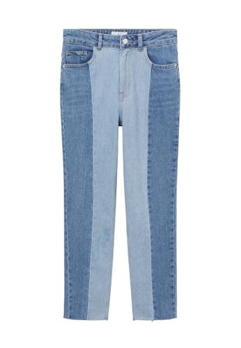 MANGO KIDS blue Seams Slim-Fit Jeans DAFC8KA0A4E4FFGS_1