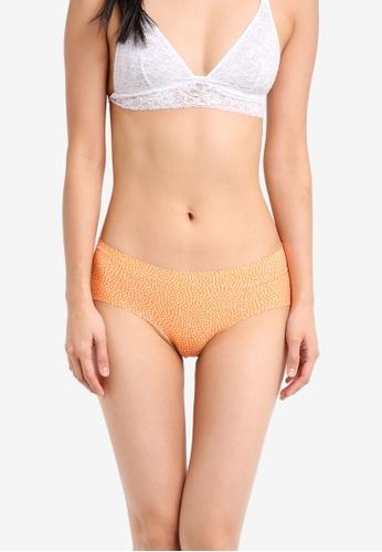 Cotton On Body orange Party Pants Boyleg Panties CO561US0SRNOMY_1