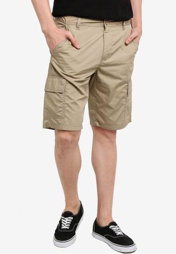 OVS 褐色 百慕達短褲 15F38AA69E2D4BGS_1