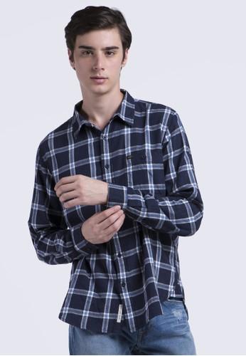 Lee navy Long Sleeve Shirt 07303AAD283EBDGS_1