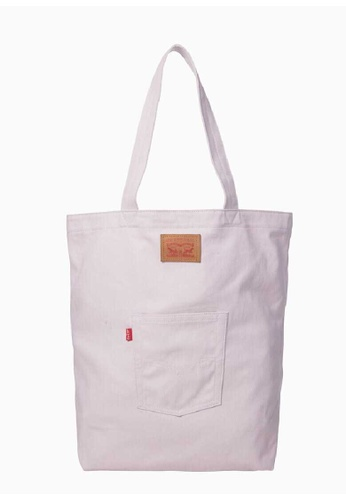Levi's pink Levi's Back Pocket Tote 8257AACDB803A6GS_1