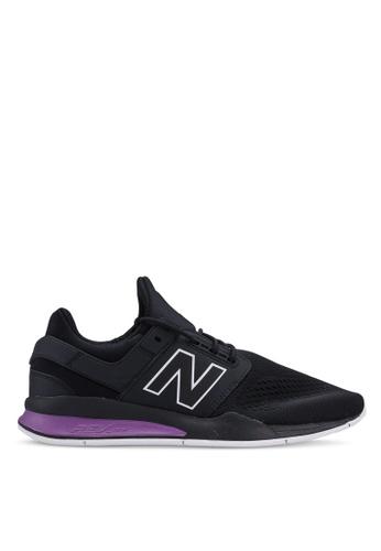 New Balance black 247 Lifestyle Tritium Shoes 9B5F1SH69DFBA5GS_1
