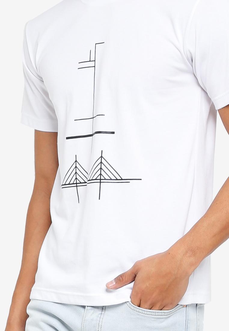 T Penang Identimerty White Kuala Shirt Lumpur Klozet 7808BcdAq