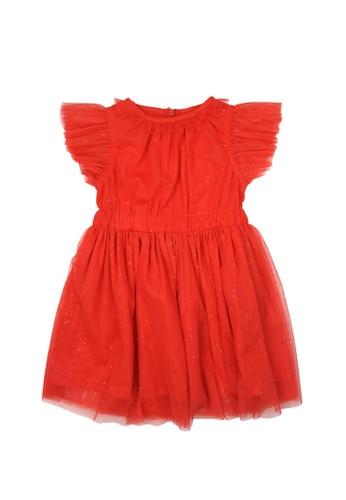 Gingersnaps red Kokeshi Land Dress Grenadine 76FAAKAEEDA440GS_1