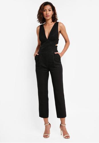 Bardot black Delvigne Jumpsuit BA332AA0ST81MY_1