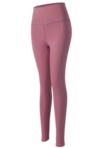 Sunnydaysweety pink High-Rise Stretch Tights A081024PI ECEE7AAF063E09GS_1