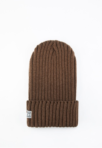 Life8 brown Men and Women Knitted Retro Beanies-Brown【05308】 F67E4AC19BAEE6GS_1