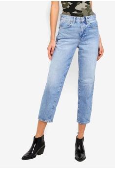 e725dd16 River Island blue Barell Leg Crazy Jeans 3AD47AA54F1B16GS_1