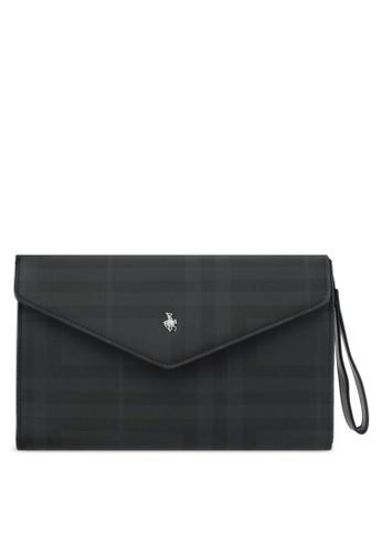 Swiss Polo black Swiss Polo Clutch Bag SW912AC0SMBEMY_1