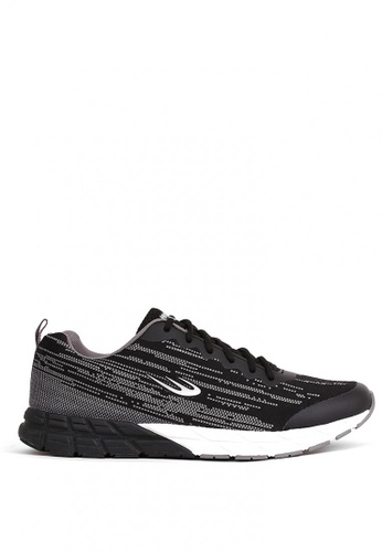 World Balance black Matrix Runner Mens Running Shoes 53C0ESH1C05C92GS_1
