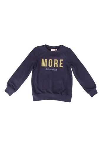 ONLY navy Mina Long Sleeve O-Neck Sweater 3A4AAKA82592E5GS_1