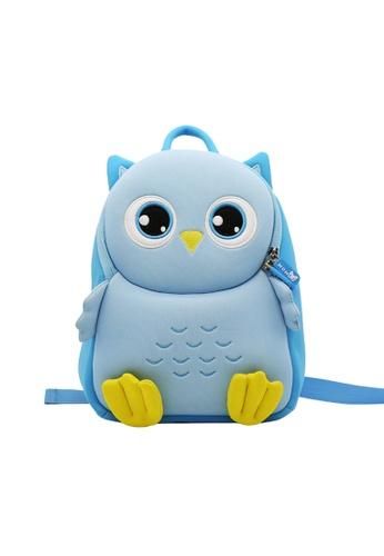 Nohoo blue Nohoo Kids Backpack Owl (Blue) E6085KC54BBFDBGS_1