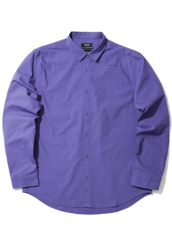 Fivecm purple Spandex poplin shirt 2483BAA168F70CGS_1