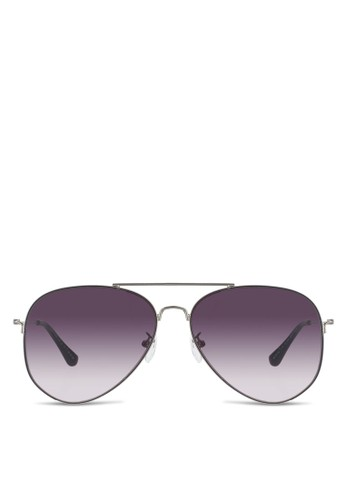 Dixon 經典飛行員太陽眼鏡, esprit tw飾品配件, 飛行員框