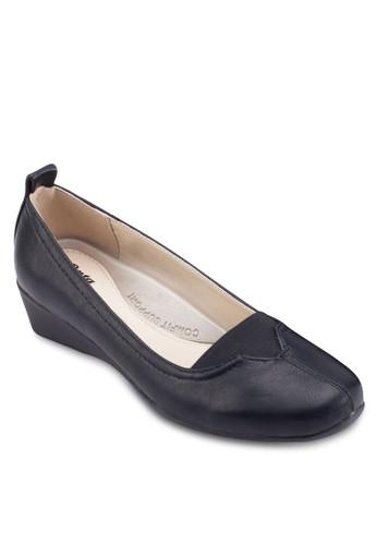 esprit home 台灣楔型跟正式女鞋, 女鞋, 鞋