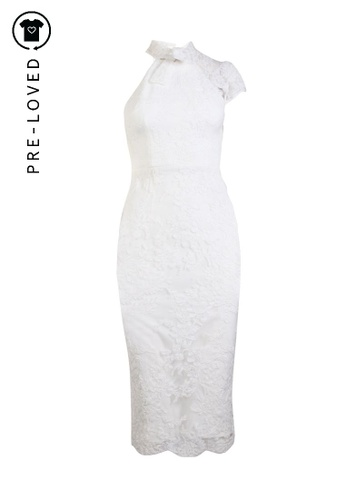 Alex Perry white Pre-Loved alex perry White Lace Dress D3ECAAA1761434GS_1