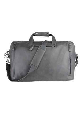 London Rag grey London Rag Men Charcoal Duffel Bag BG5049 LO360AC0GPWUSG_1