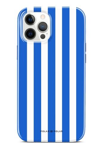 Polar Polar blue Blue Stripe Dual-Layer Tough Case Glossy For iPhone 12 Pro Max 2B11FACDFF981DGS_1