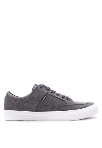 SONNIX grey Duros  Q217 Lace Up Sneaker Shoes SO490SH07WAYPH_1
