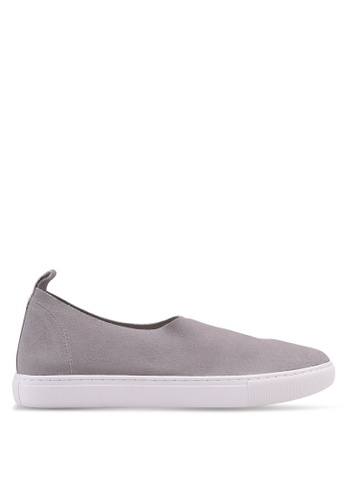 Kenneth Cole 灰色 Kathy Slip Ons D9B00SH57A7802GS_1